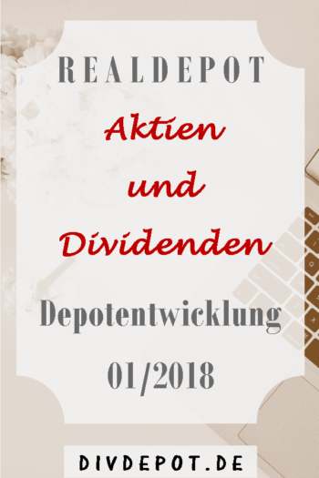 Depotentwicklung Dividenden Aktien Report Portfolio Income Performance
