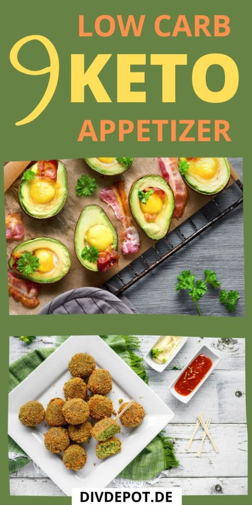 keto LOW-CARB appetizers