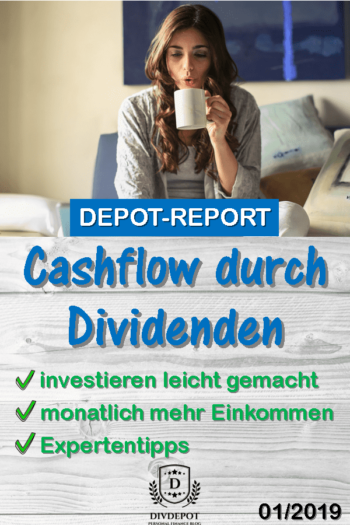 Cashflow durch Dividenden > Real-Depot Report